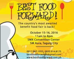 Best Food Forward Stages its 6th year!