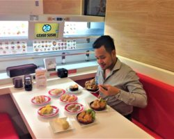 Genki Sushi Opens 4th branch in SM Aura with New Interesting Menu Offerings